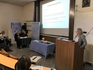 SMZ 9. 3. 2019. Ivana Javorić.jpg, moderatori Adelka Zoretić i Željka Rašić